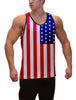 American Flag Fitness Tank Top