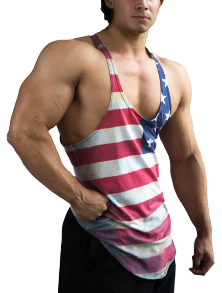 Weathered Glory Stringer Tanktop