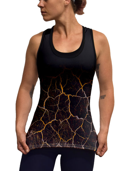 Earthquake Racerback Tank