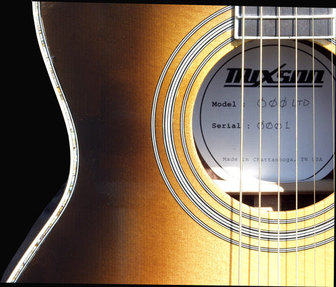 000 Limited Serial Number 001 | Mixson Acoustic Guitars