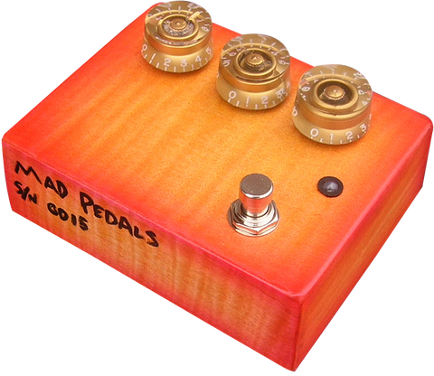 Flametop Professional Overdrive #15 / @MadPedals