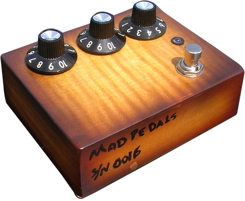 Flametop Professional Overdrive #16 / @MadPedals