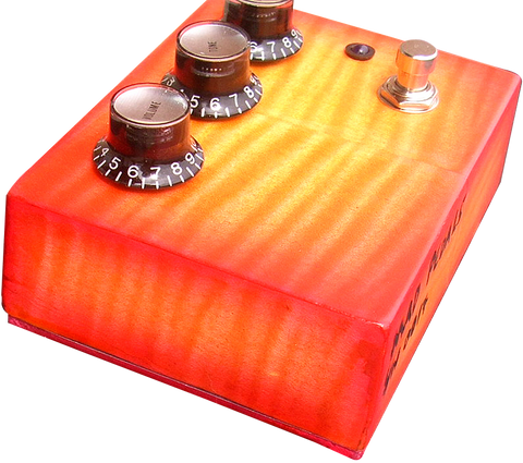 Flametop Professional Overdrive #17 / @MadPedals