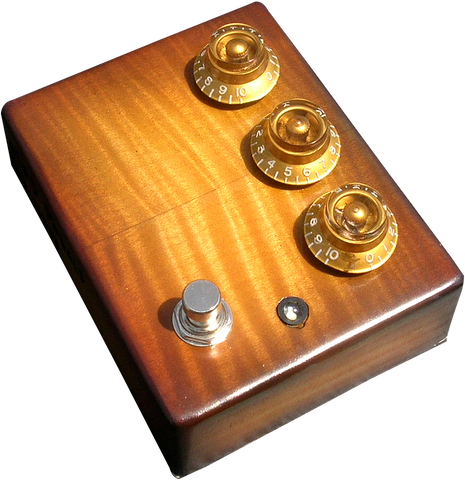 Flametop Professional Overdrive #19 / @MadPedals