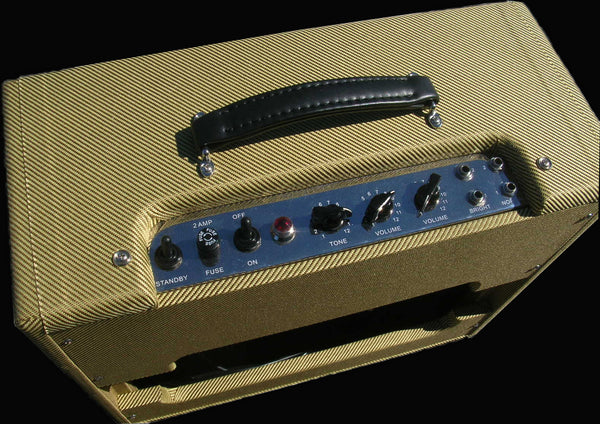 "Mixson 20 Watt Hand Wired 1x12"" Tweed Combo Amp"