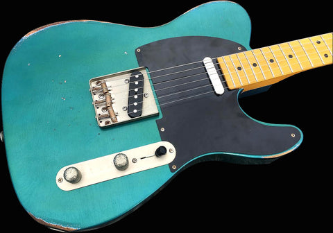 RetroVibe® Number 20 Blackguard T Lake Placid Blue