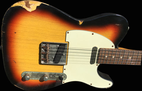 RetroVibe® Number 22 Blackface T Sunburst