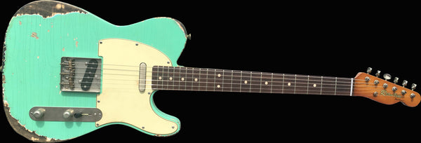 RetroVibe® Number 37 Blackface T Surf Green