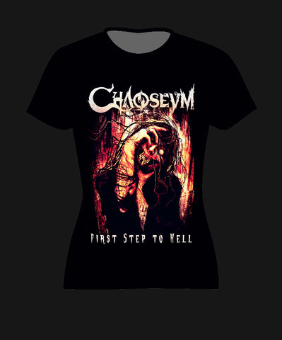 Women's T-shirt: First Step To Hell