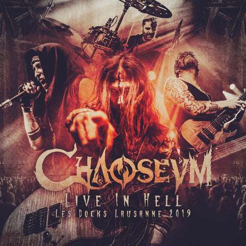 CD: Live In Hell - Les Docks, Lausanne 2019 LIMITED EDITION - SIGNED - ONLY 500