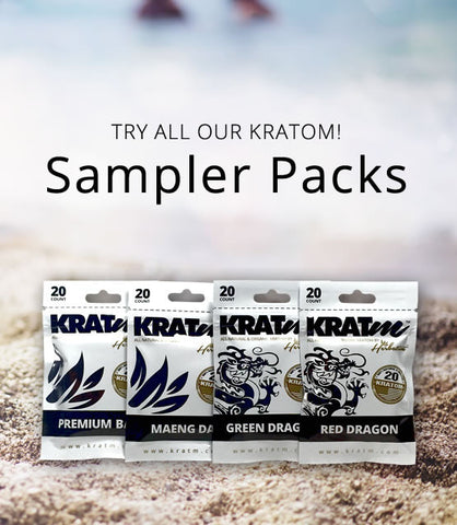 Kratom Capsules Sampler Packs