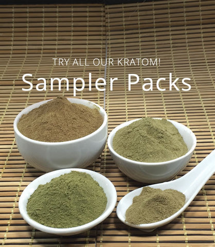 Kratom Powder Sampler Packs