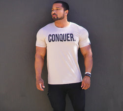 "Total Alpha ""CONQUER"" - Tee-Tan"
