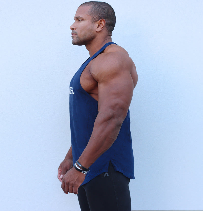 TOTAL ALPHA ROYAL BLUE RACER BACK TANK