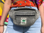 Himalayan Hemp - Money Belt Bag - Black
