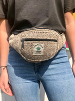 Himalayan Hemp - Money Belt Bag - Brown