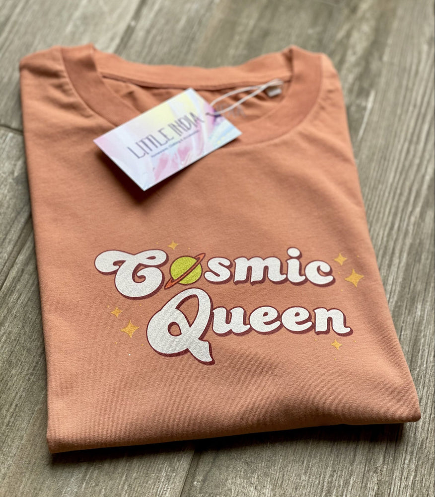 T-shirt - Cosmic Queen (Dip Dye)