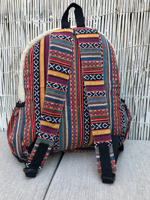 LARGE Hemp backpack - NEW