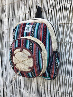 SMALL Hemp backpack NEW