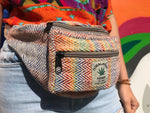Himalayan Wool & Hemp - Money Belt Bag - Multi colour