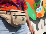 Himalayan Hemp - Money Belt Bag - Beige