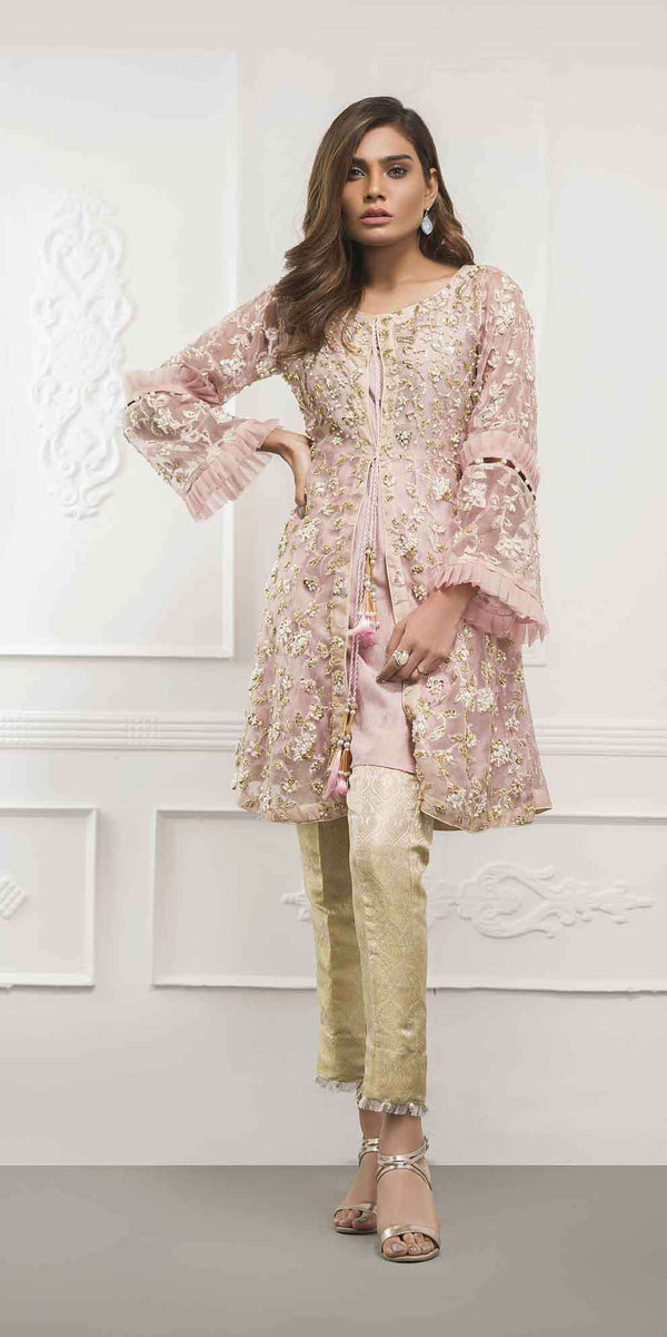 Luxury Pret, Pakistani Fashion Designer POWER PINK - Phatyma Khan