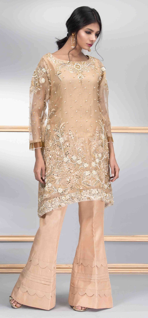 Luxury Pret, Pakistani Fashion Designer JAZZ GOLD - Phatyma Khan