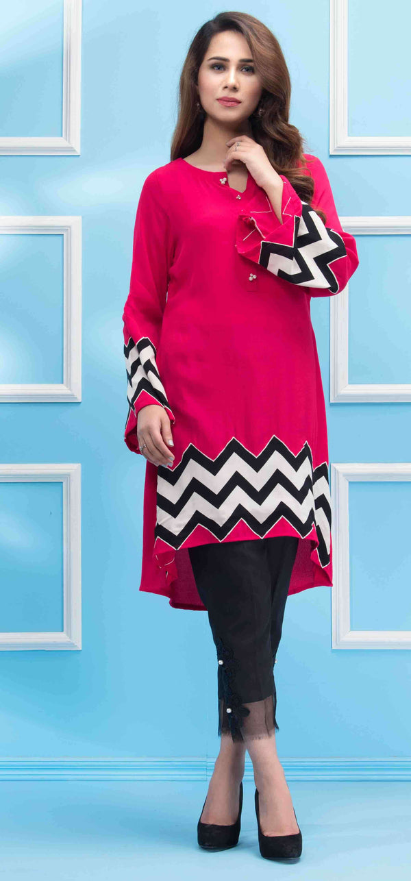 PINK ZIGZAG - Phatyma Khan  [product_price] [product_description]