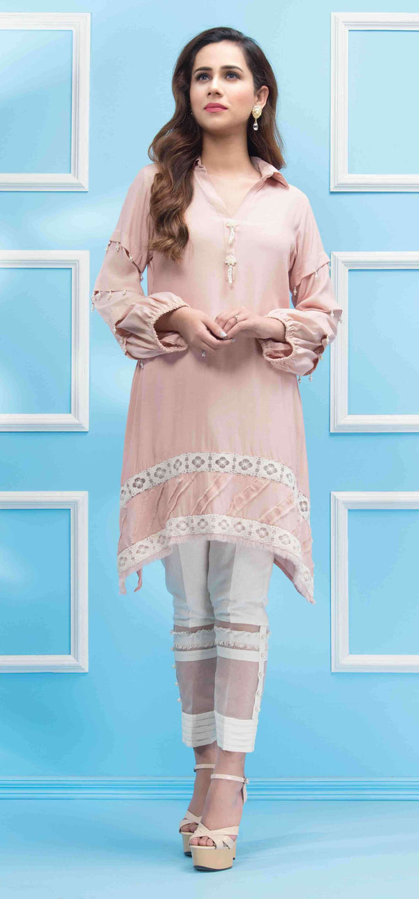 BISCUIT PEACH-Phatyma Khan-[Luxury_Pret]-[Pakistani_Fashion_Desginer]-[Women_Fashion_Brand]