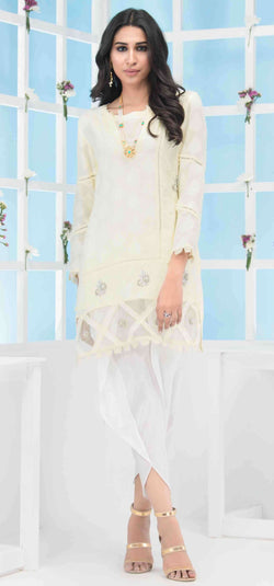 Luxury Pret, Pakistani Fashion Designer LIME PEARL - Phatyma Khan