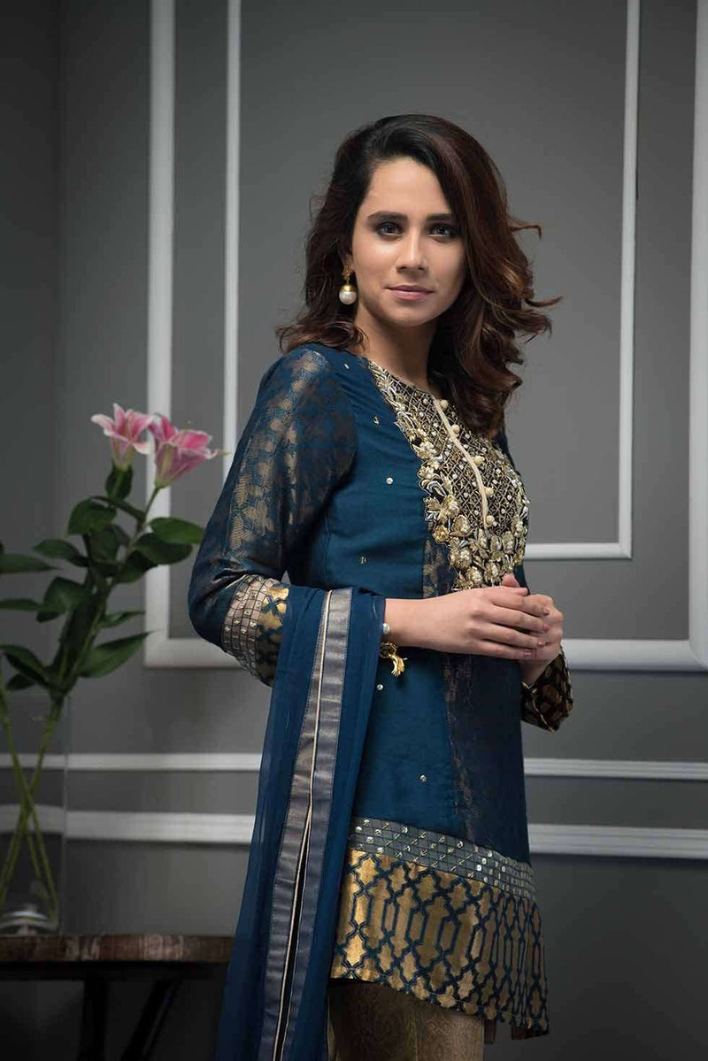 TRIBAL BLUE-Phatyma Khan-[Luxury_Pret]-[Pakistani_Fashion_Desginer]-[Women_Fashion_Brand]