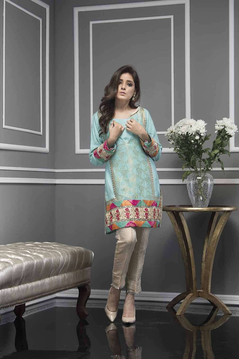 Luxury Pret, Pakistani Fashion Designer FEROZA BLISS - Phatyma Khan