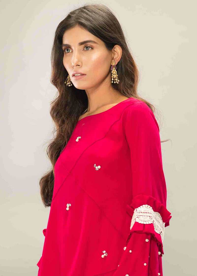 ROSE PINK - Ready To Deliver-Phatyma Khan-[Luxury_Pret]-[Pakistani_Fashion_Desginer]-[Women_Fashion_Brand]