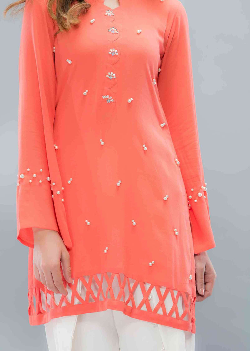 CORAL PEARL - Phatyma Khan  [product_price] [product_description] - Luxury Pret - Women's Designer Clothing #luxurypret