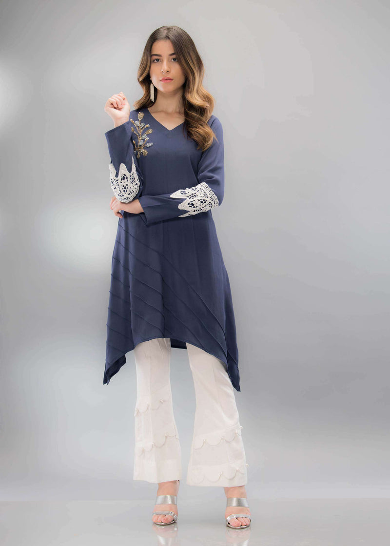 BLUE GRACE - Phatyma Khan  [product_price] [product_description] - Luxury Pret - Women's Designer Clothing #luxurypret