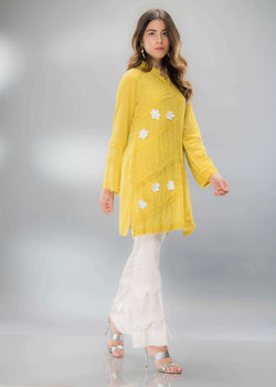LEMON GREEN - Ready To Deliver-Phatyma Khan-[Luxury_Pret]-[Pakistani_Fashion_Desginer]-[Women_Fashion_Brand]