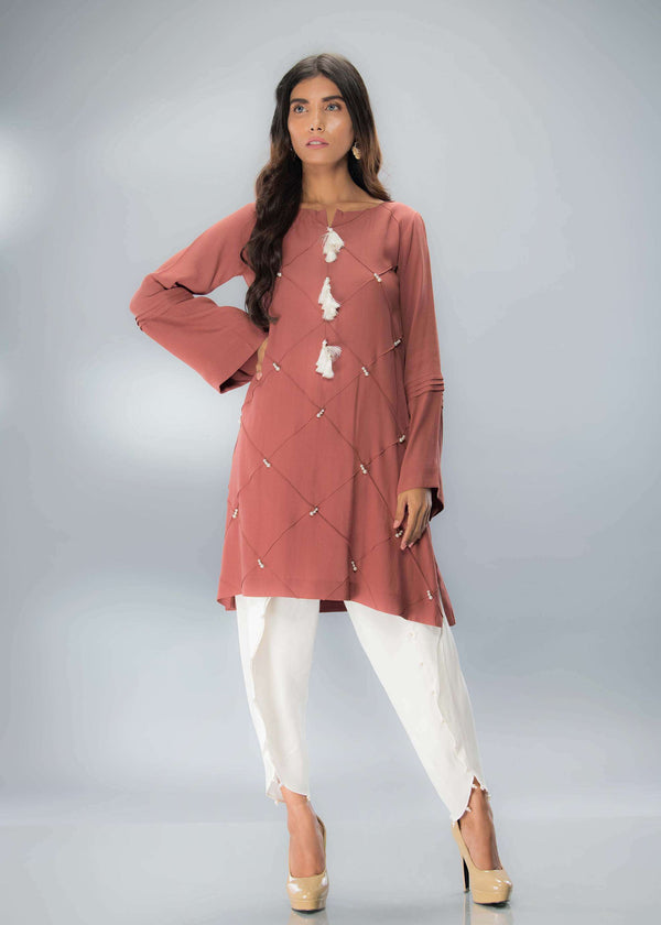 DUSKY BROWN-Phatyma Khan-[Luxury_Pret]-[Pakistani_Fashion_Desginer]-[Women_Fashion_Brand]