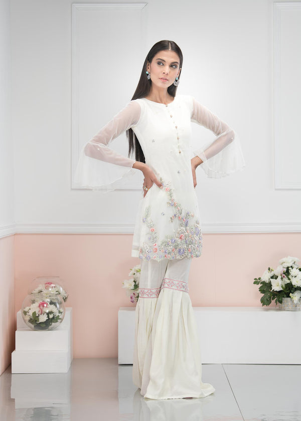 Luxury Pret, Pakistani Fashion Designer ZESTY LIME - Phatyma Khan