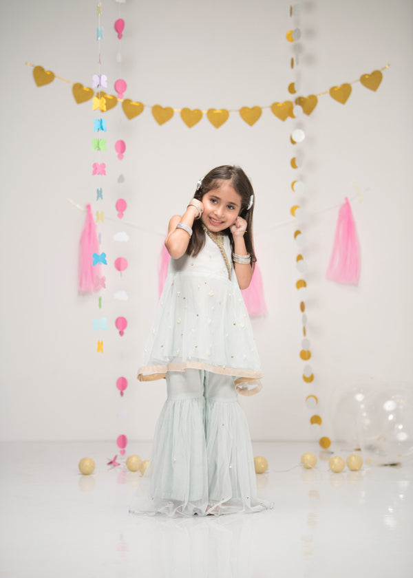 Luxury Pret, Pakistani Fashion Designer MINI PEARL SWAN - Phatyma Khan