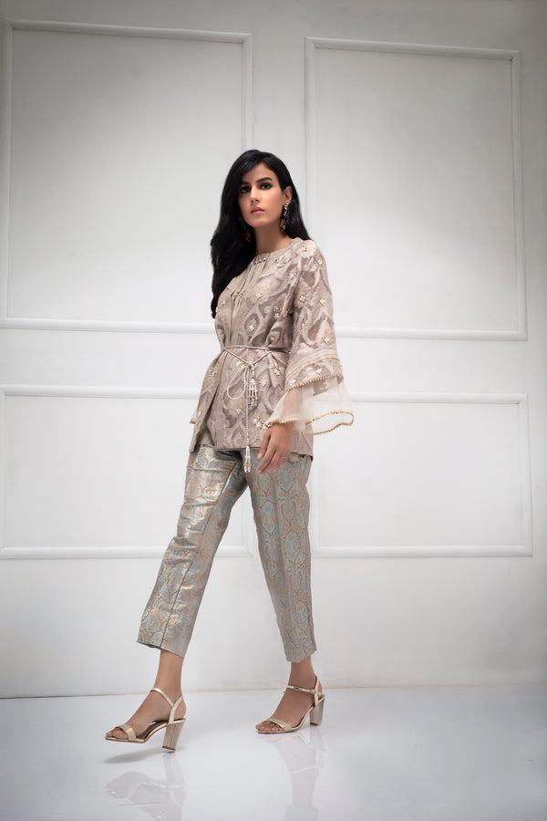 CARAMEL GOLD - Ready To Deliver-Phatyma Khan-[Luxury_Pret]-[Pakistani_Fashion_Desginer]-[Women_Fashion_Brand]