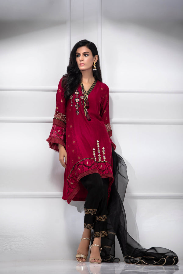 CARDINAL RED-Phatyma Khan-[Luxury_Pret]-[Pakistani_Fashion_Desginer]-[Women_Fashion_Brand]