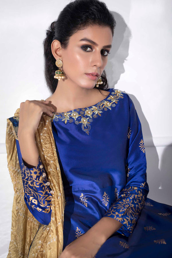 FESTIVE ROYAL BLUE-Phatyma Khan-[Luxury_Pret]-[Pakistani_Fashion_Desginer]-[Women_Fashion_Brand]