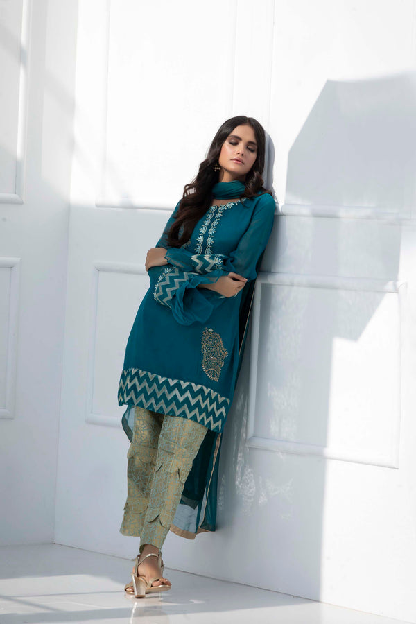 SPARKLE GREEN-Phatyma Khan-[Luxury_Pret]-[Pakistani_Fashion_Desginer]-[Women_Fashion_Brand]