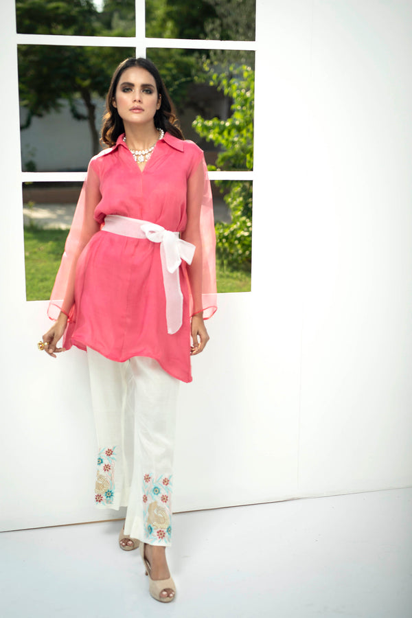 Luxury Pret, Pakistani Fashion Designer HAUTE PINK - Phatyma Khan