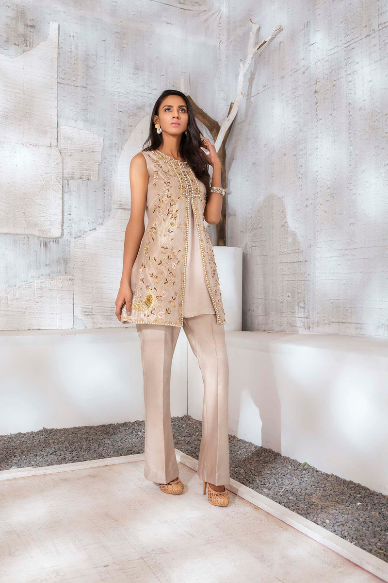 BISCUIT GOLD-Phatyma Khan-[Luxury_Pret]-[Pakistani_Fashion_Desginer]-[Women_Fashion_Brand]