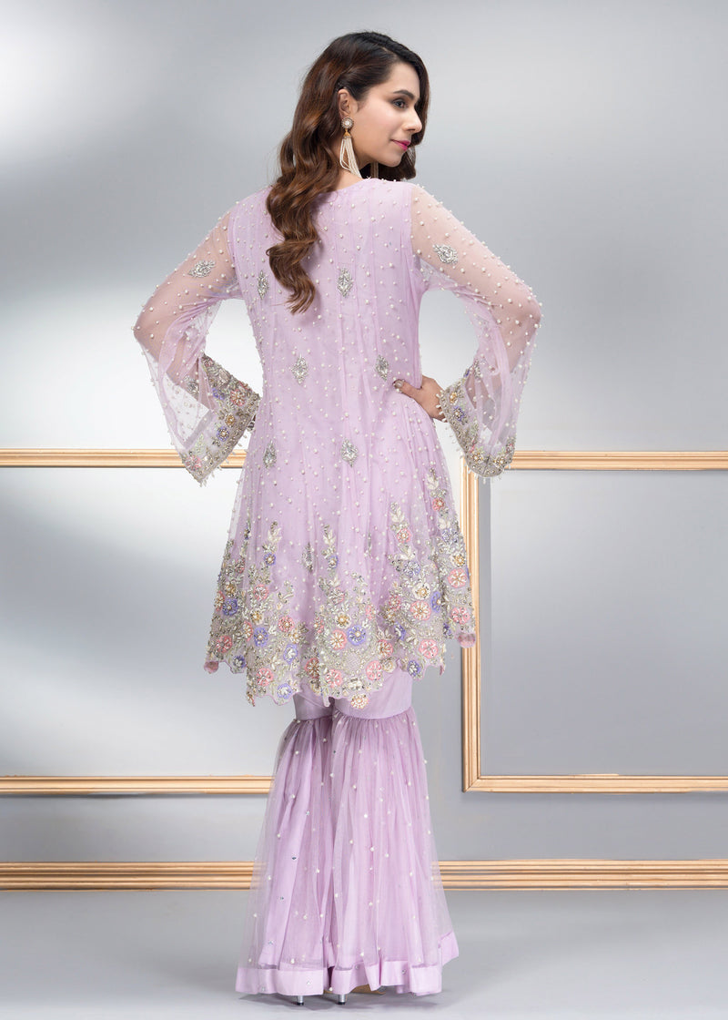 Luxury Pret, Pakistani Fashion Designer ORCHID PEARL - Phatyma Khan
