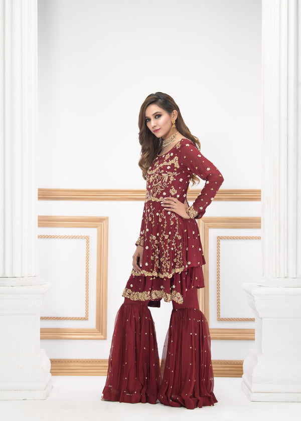 JEWEL RED-Phatyma Khan-[Luxury_Pret]-[Pakistani_Fashion_Desginer]-[Women_Fashion_Brand]