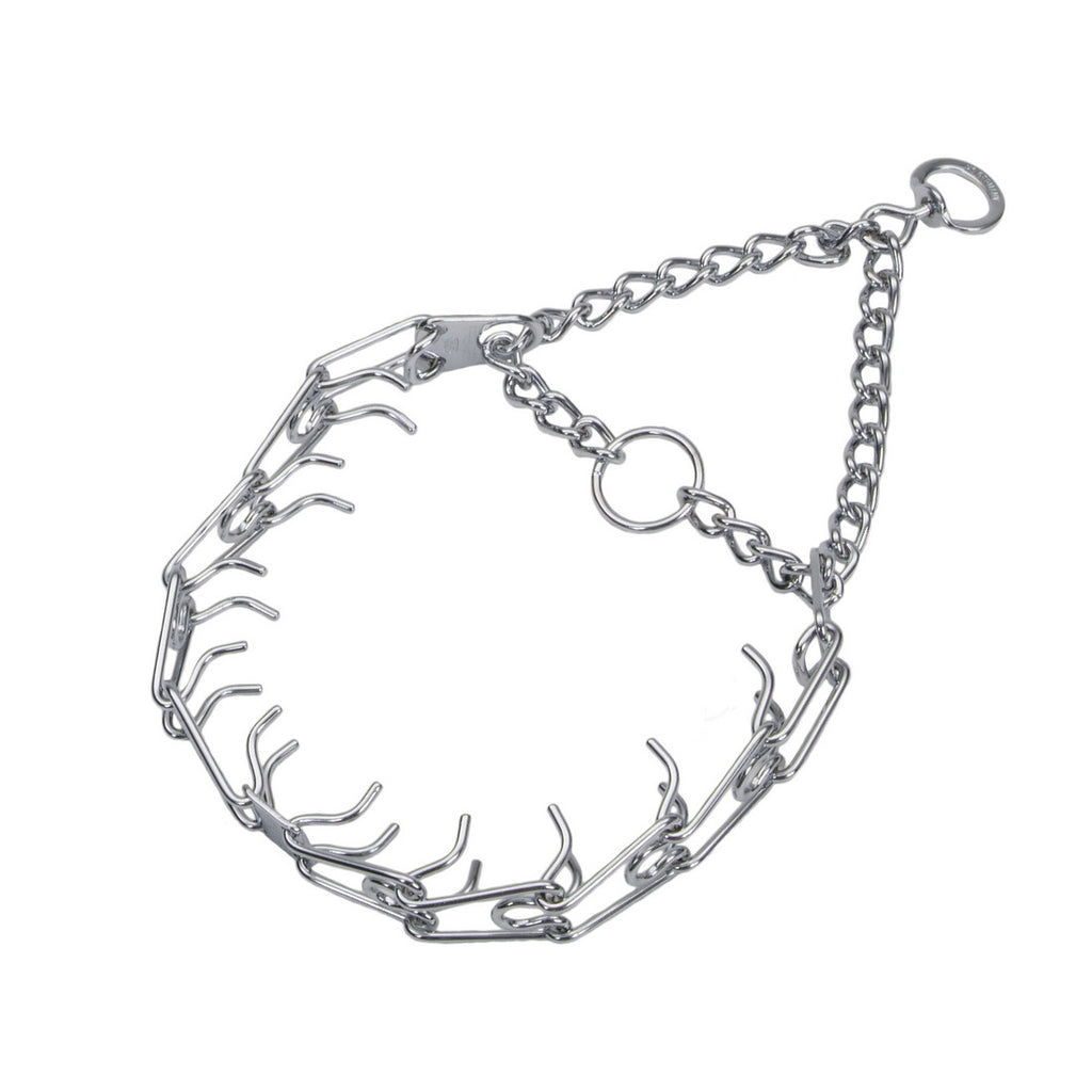Prong Dog Collar - 3mm Chrome