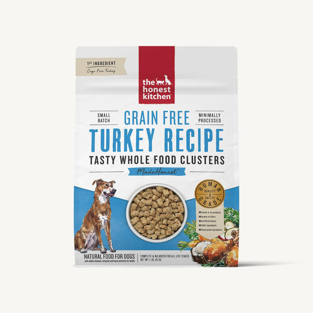 Honest Kitchen Whole Food Clusters - Grain Free Turkey
