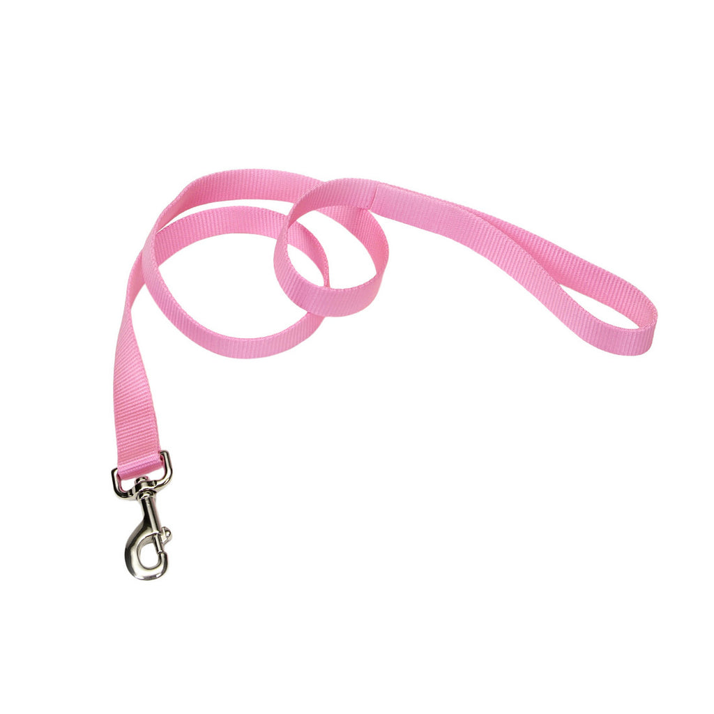 Nylon Leash 1 X 6 Pink